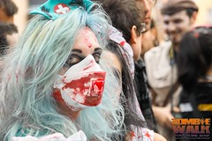 (Jamiecat *) Tags: france make up monster blood day zombie walk parade freak gore hunter 20 toulouse sang septembre antistatic morts vivant rêves collectif 2013 temporels