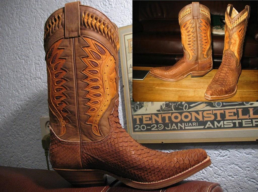 48cbfe53b88 Snakeskin Boots With Head - Yamsixteen