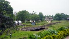 Anuradhapura Railway Station    (Malka001) Tags: trees sky tree station turn train railway trains railwaystation engin anuradhapura anuradapura flatfoam