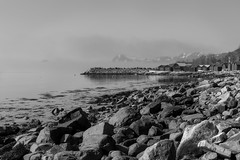Molde molo (Steinskog) Tags: natur utsikt molo molde fjell snø hav naust