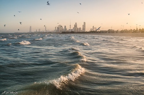 Kuwait City - Frozen sunrise