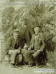 Eugenio Prati Eugenio Prati e Pietro Pallaver ad Ala