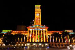 City Hall Light Show