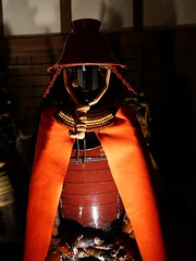 Japanese Armor 黒田孝高(官兵衛) (Rabbit_No17) Tags: armor sengoku himejicastle 姫路城 兵庫 hyōgo 戦国武将 黒田官兵衛 黒田孝高