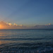 Sunrise at  Caribbean Sea