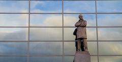 The Sir Alex Ferguson statue (Jordan Hudson Photography) Tags: old alex statue manchester united sir trafford ferguson