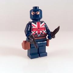 Lego Custom Union Jack (Alien Hand) Tags: lego custom unionjack minifigure