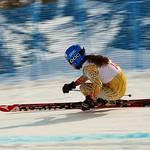 Mikayla Martin - Kimberley Keurig downhill race action PHOTO CREDIT: Derek Trussler
