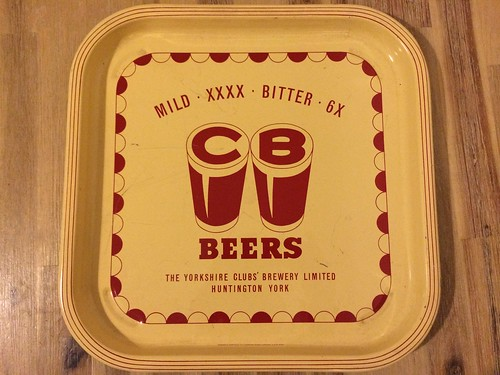 The Yorkshire Clubs' Brewery Limited - Metal Beer Tray
