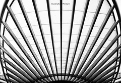 CMG_4890 (world's views) Tags: bw portugal lines architecture lisbon trainstation 2014 parquedasnaoes orientestation