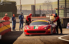 Refueling (Francesco Carlo | Automotive Photographer) Tags: red italy digital canon eos amazing corse ferrari beast l usm af endurance 70200 f4 dunlop gt3 ultrasonic mugello refueling 458 650d 12hrs