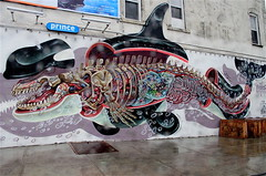 Nychos' Orca (jayzeapix) Tags: new york streetart brooklyn orca nychos 2013