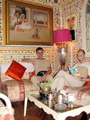 india (gerben more) Tags: india men me painting hotel us jaipur rajasthan goatie