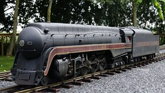 N&W 002 (MODEL AND REAL TRAINS) Tags: scale nw o steam locomotive mth