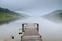 Loch Earn Pier 2 (Iain Brooks) Tags: sunset white lake storm black water rain st clouds bench mono scotland pier still nikon long exposure jetty seat nd 1750 lone lonely loch filters grad tamron lightroom cokin earn fillans d7000