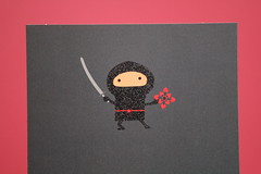 Thankfulness 365 Project Feb 14 - 45/365 (munroetwilight) Tags: ninja valentine card valentinesday valentinescard