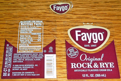 Faygo Root Beer Label A Photo On Flickriver