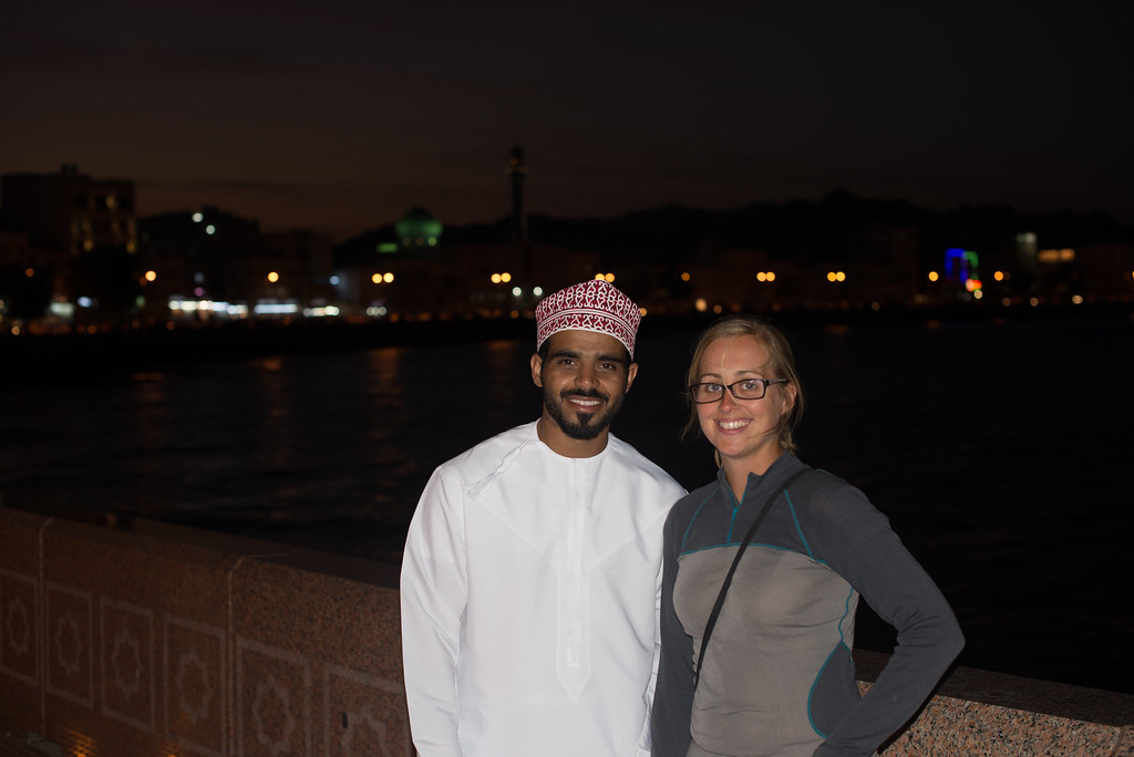 Downtown Muscat Claire and Hamed