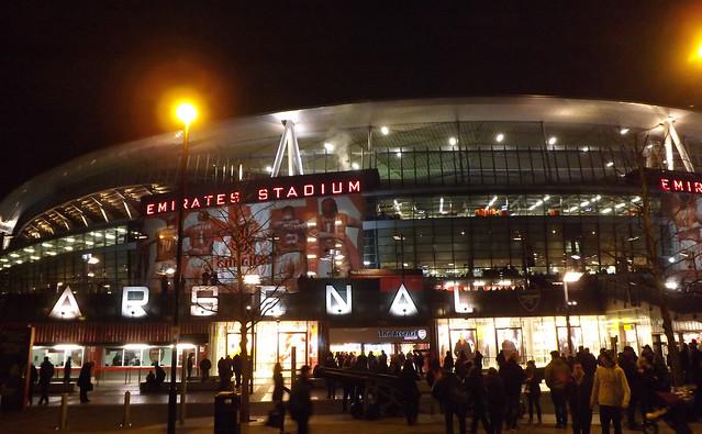 Outside Arsenal
