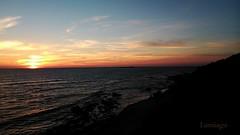 El naranja de los cielos de Cdiz (Lumiago) Tags: espaa atardecer spain playa cdiz chiclana playadelabarrosa