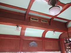Ceiling detail inside the dental car (shankar s.) Tags: ontario canada railwaystation trainstation carinterior dentalclinic railroadstation smithsfalls stationplatform sleepingcar sleepercar viarailcanada outdoorexhibits mobilehospital dentalcar canadiannorthernrailway railwaysofcanada smithsfallsstation railwaymuseumofeasternontario canadarailways hospitalonrails oldsmithsfallsstation rmeosmithsfalls