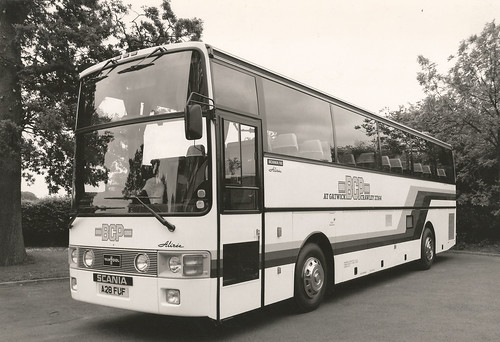 BCP at Gatwick Scania K112 Van Hool Alizee Super High Coach
