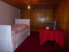 Kim Il-Sung slept in this bed (Daniel Brennwald) Tags: museum northkorea dprk militarymuseum kimilsung nordkorea koreawar pyongsong militarysite