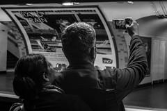 Tourist Selfie (Nikan Likan) Tags: street white black paris field zeiss vintage de lens photography 50mm prime metro charles tourist jena mount mc german carl ddr manual gaulle praktica depth | toile selfie 2016 prakticar 4 14