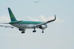 IMG_2515 (wmcgauran) Tags: boston airplane airport aircraft aviation boeing bos aerlingus 757 eastboston kbos eicjx