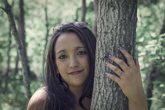 Favorite Tree (Luv Duck - Thanks for 14M Views!) Tags: pretty modeling adorable brunette madeline prettygirl select beautifulgirl prettysmile girlintheforest alaskangirls anchoragegirls