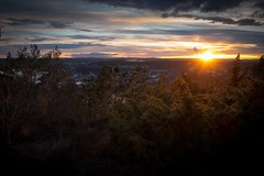 The last sparkles of the setting sun (MFB_2010) Tags: sunset norway landscape ilovenature naturelovers g3x canonpowershotg3x