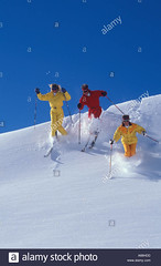 15000765 (onesieworld) Tags: winter friends red woman mountain snow man ski france alps sexy sports french outdoors europe skiing adventure jacket blond 80s onepiece carefree enjoyment pleasure 90s kinky 30s thrill catsuit snowsuit onesie 20s offpiste exhilarating skisuit vacationgroup