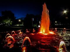 Water and lights (I.C. Photo) Tags: tamajdan tasmajdan beograd belgrade srbija serbia lights fountain water