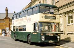 B61454D WD 4334 JJT446N Salisbury 9 Jul 94 (Dave58282) Tags: bus 3334 wiltsdorset hantsdorset jjt446n