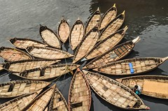 Unity is the power! (ashik mahmud 1847) Tags: people man water river circle boat group nikkor bangladesh riverlife d5100