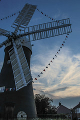 June sunset at Holgate Windmill - 4