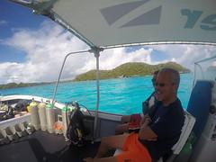 Cruising around the Rock Islands.