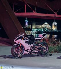 _LG12654 (LGpics (Twist'd)) Tags: motorbike motorcycle daytona 675
