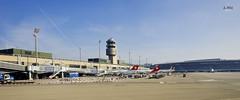 Swiss Airplanes (A. Wee) Tags: switzerland airport swiss zurich  swissair zrh