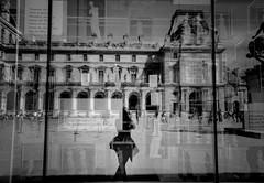 optical illusion (s@brina) Tags: playing paris reflection me myself io illusion showcase