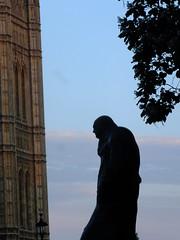 Churchill Facing Parliament (failing_angel) Tags: london westminster parliament winstonchurchill cityofwestminster ivorrobertsjones 170716