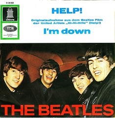 25 - Beatles, The - Help - D - 1965 (Affendaddy) Tags: germany help emi odeon thebeatles 1965 electrola imdown vinylsingles collectionklaushiltscher british1960sbeat o23023