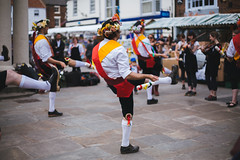 you put your left leg in.... (I AM JAMIE KING) Tags: summer england people music dance costume village britain folk clogs morris tradition folkmusic beverley morrisdance beverleyfolkfestival