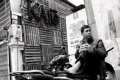 Need a ride? (Melvin Yue) Tags: street city travel bw colors monochrome 35mm blackwhite asia vietnamese cityscape colours streetphotography wanderlust traveller vietnam explore fujifilm lonelyplanet blacknwhite bnw photooftheday picoftheday natgeo travelphotography travelgram x100s