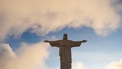 Christ the redeemer statue (sakhitasharma) Tags: travel brazil tourism statue riodejaneiro landscape christtheredeemer wonderoftheworld travelphotography sakhitasharma