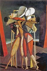 de Chirico - Hector and Andromache [1912] (petrus.agricola) Tags: de hector giorgio chirico pittura metafisica ettore andromaca andromache