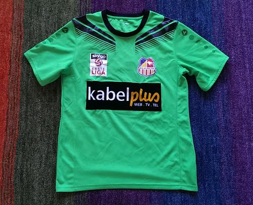 SKN St. Pölten match worn shirt 2015/16 Christoph Riegler vs. SC Wiener Neustadt (20.05.2016)