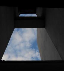 Few square meters of sky... (Michael Kalognomos) Tags: light sky building window concrete skylight athens greece dormer ef24105mmf4l canoneos70d