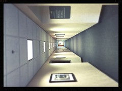 Across the hall.. (Robie..) Tags: hospital hall infinite iphone