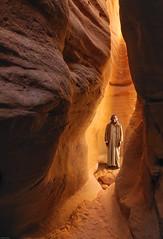 *Sheikh Muhammad and the Slotcanyon* (albert.wirtz) Tags: albertwirtz gypten sinai southsinai canyon slotcanyon nikon d700 nikkor2470f28 freihand iso800 sheikh scheich egypt sheikhmuhammad hiking wandern wanderung sinaihalbinsel sinaipeninsula bedouins beduinen sandstein sandstone rockydesert feldwste sand sheik